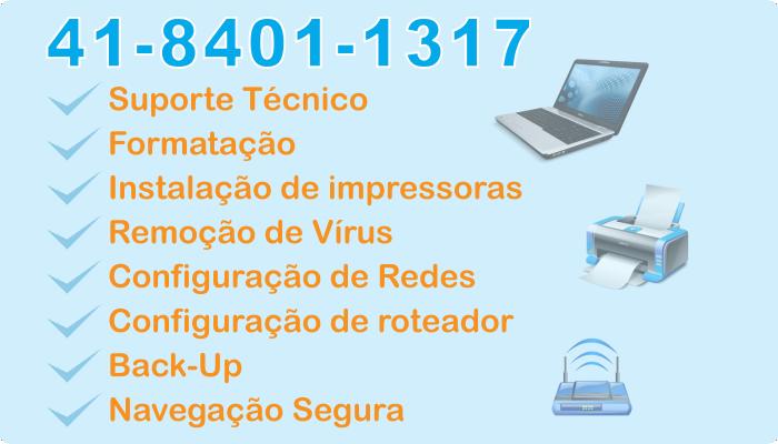 Conserto Notebook Curitiba Domícilio